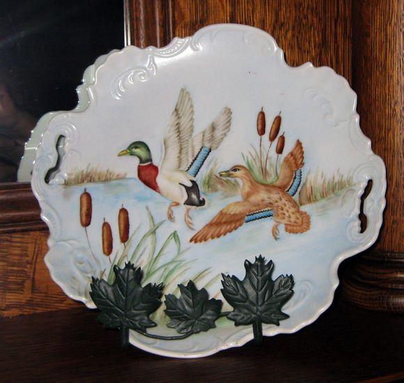 Mantel duck plate