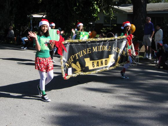 Parade Middle school band