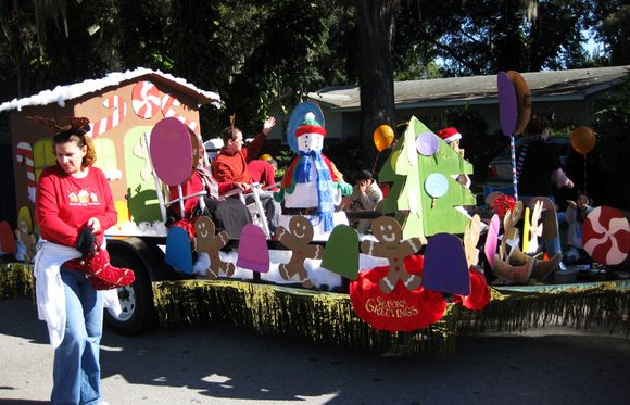 Parade float 4