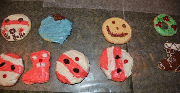 Cookies santas