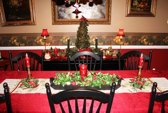 Xmas table and buffet