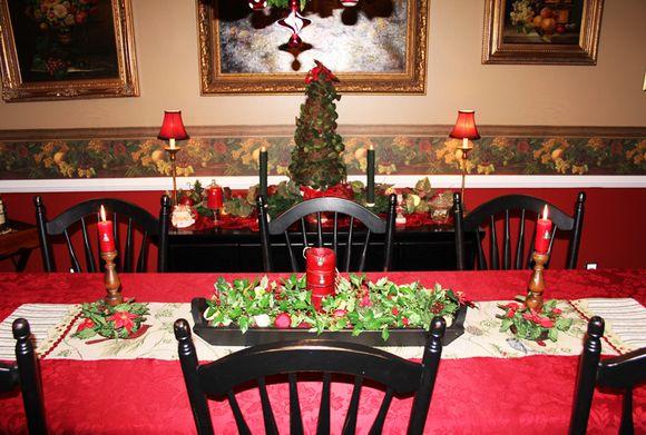 Xmas table and buffet