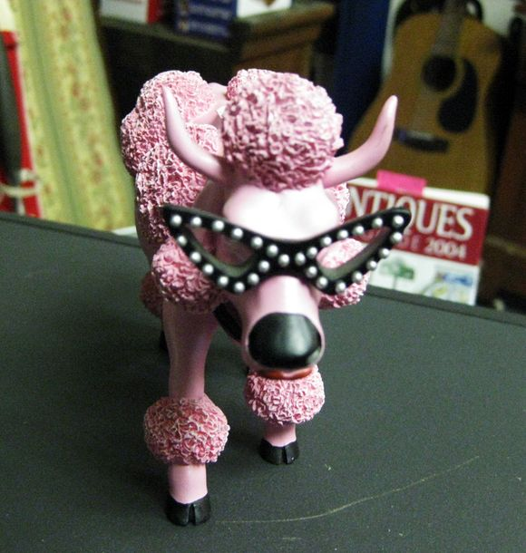 Pink poodle cow3