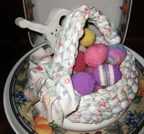 Pink Sat. egg basket