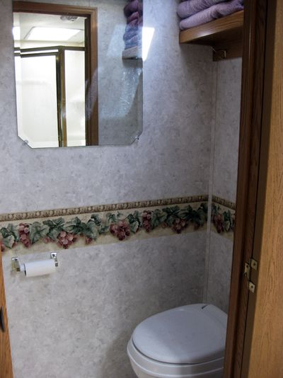 Trip RV bathroom
