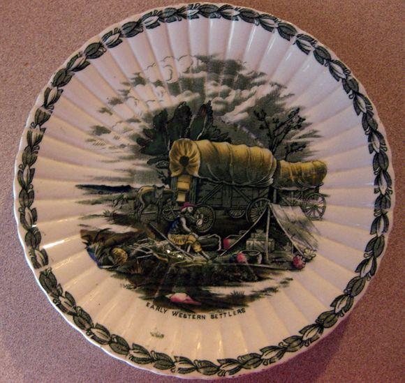 Vintage soup dish
