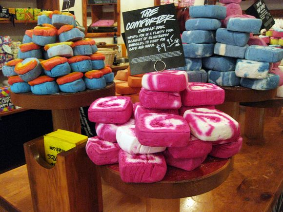 Lush pink swirl
