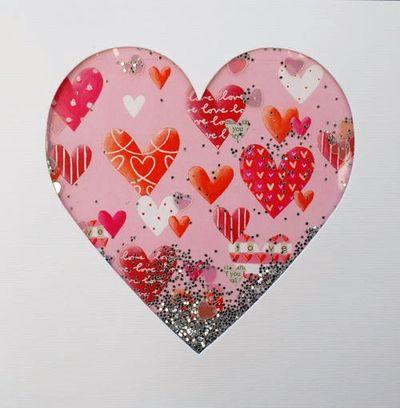 Shakies hearts pink