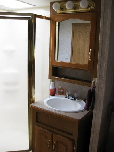 Trip RV bathroom-shower