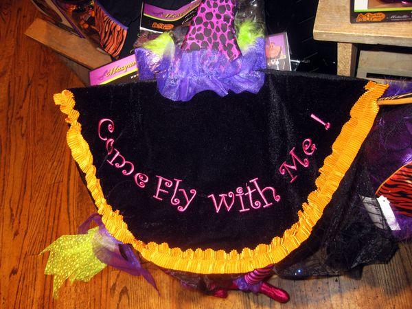 Pink pumpkins witch