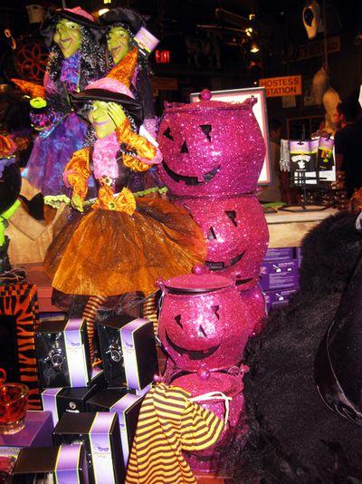 Pink pumpkins 2