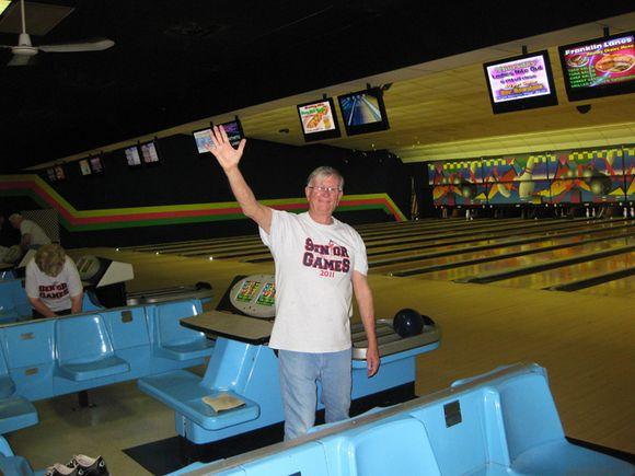 Bill bowling alley