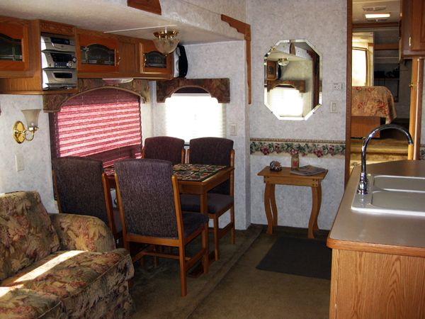Trip RV dining area