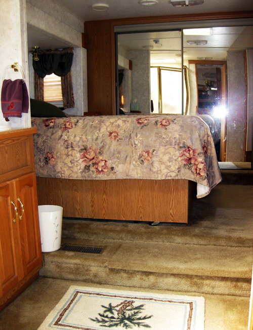 Trip RV bedroom