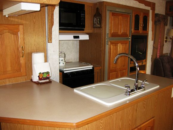 Trip RV kitchen