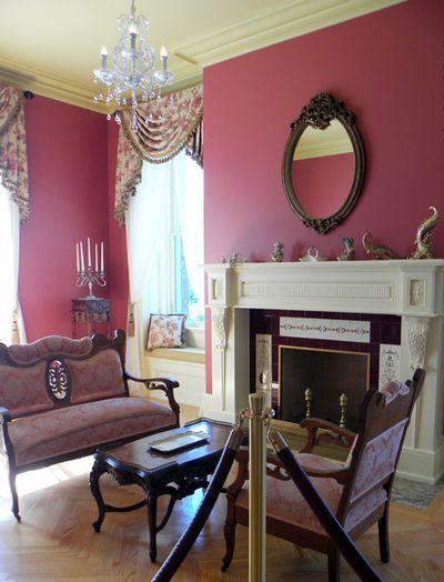 Pink Sat parlor Boldt's castle