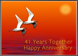 Hy 41st Wedding Anniversary To Stella And Jim January 6