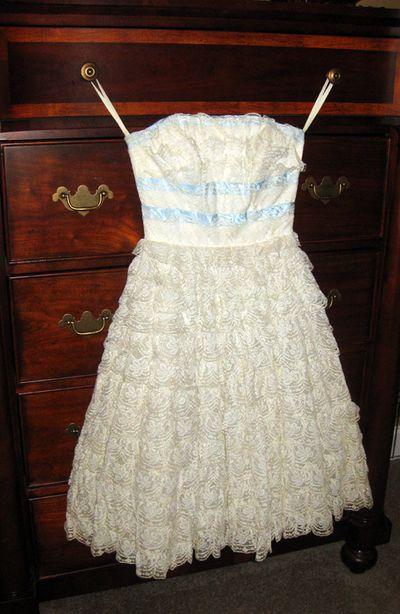 Prom dress 1957