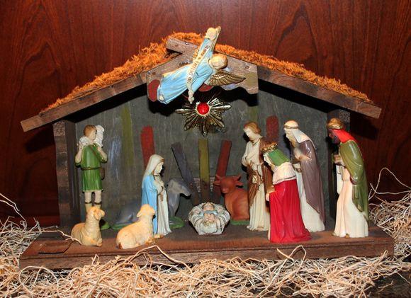 Nativity vintage