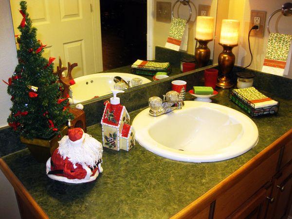Christmas in the bath