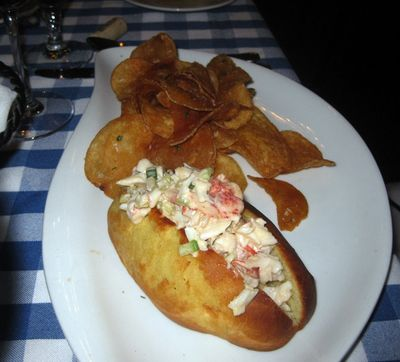 Bistro Lobster roll