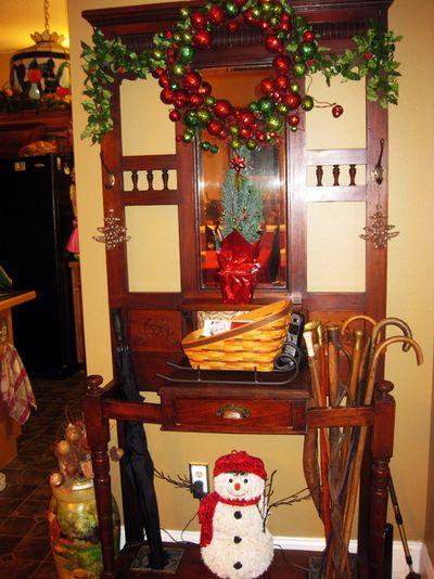 Christmas hall tree