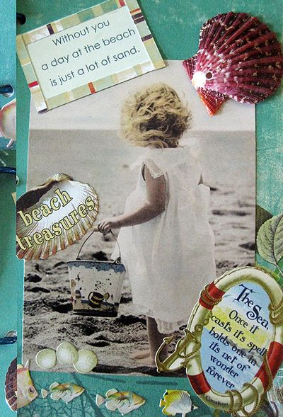 Beach journal girl jpg
