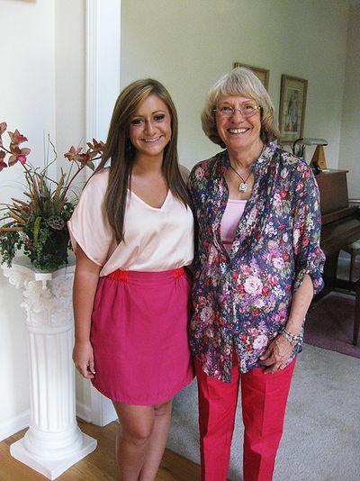 Maggie w Grandma