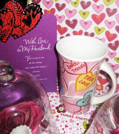 Valentine card bil