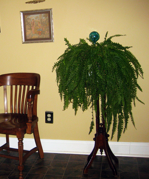 Backyard Neighbor: A VICTORIAN PLANT STAND