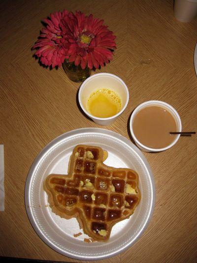 Houston Texas waffle