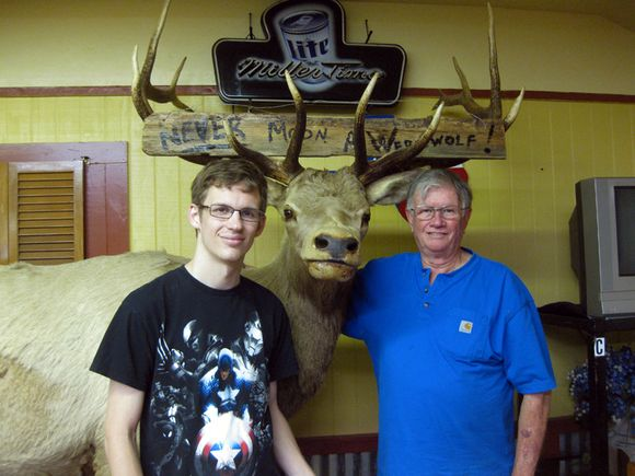 Houston Bill Brandan elk