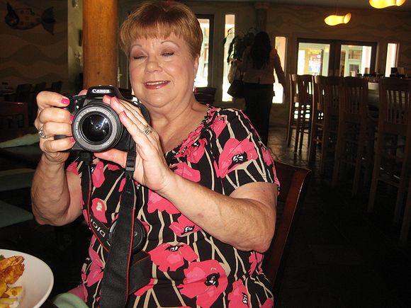 Texas Shelia w camera