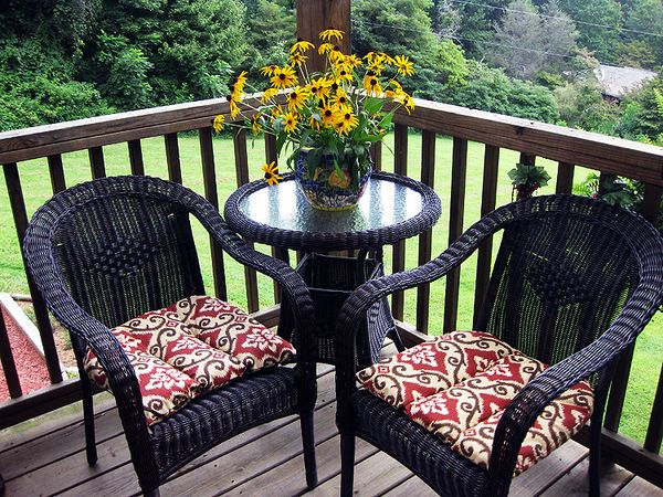 Summer porch table