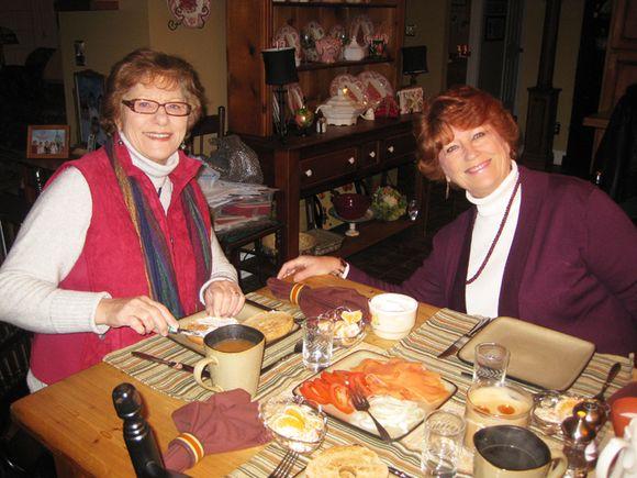 Sisters Diane Caralie