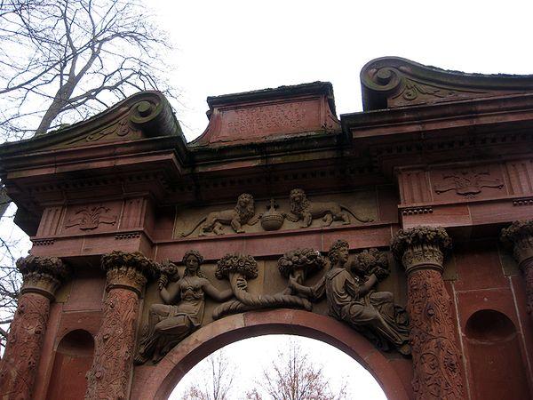 Heidleberg  castle arch