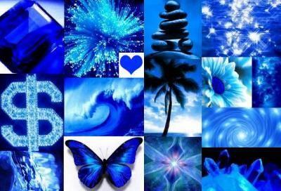 Blue Represents