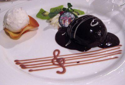 Cruise dessert