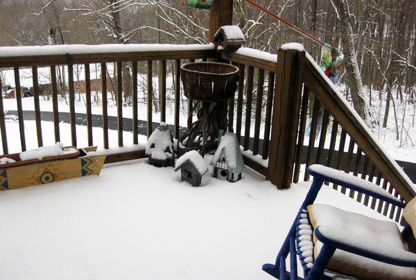 Deck snow 3