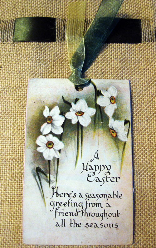 Easter tag to Beverly