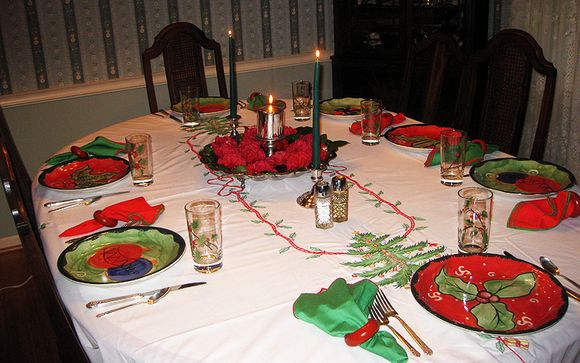 Diane Christmas table