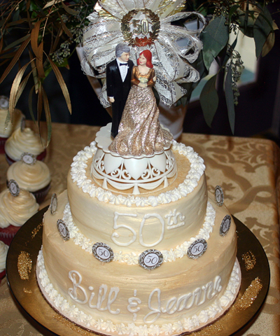 50th anniv cake