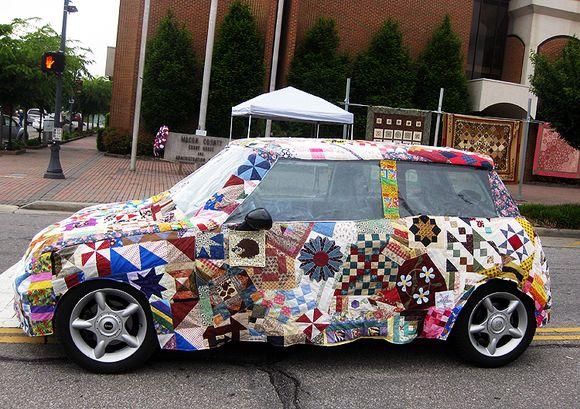 Quilt car
