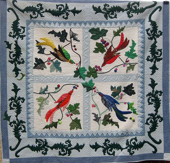 Airing of the quilts birds