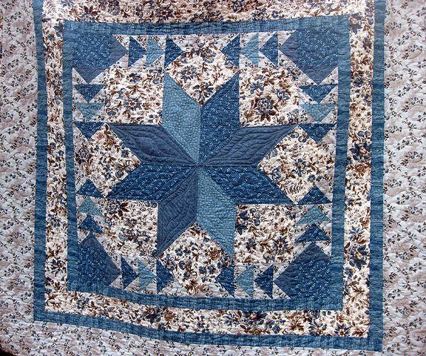 Blue quilt 2