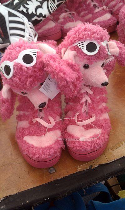 Poodle pink sneakers