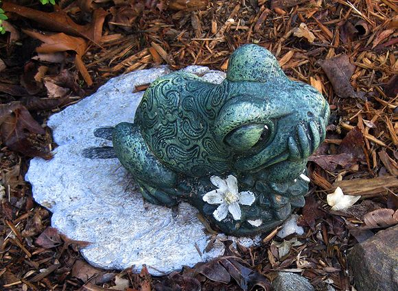 Frog yardsale find