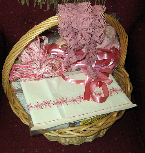 Ribbon in basket 1