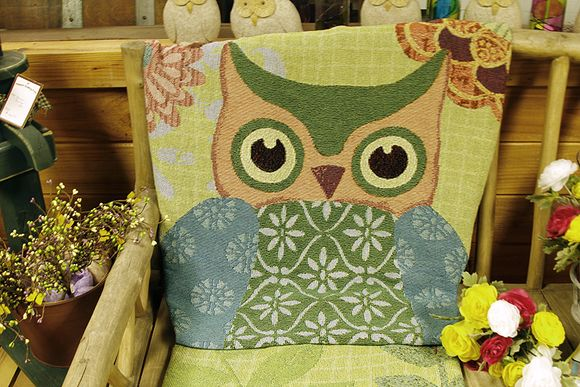 Country store chair owl