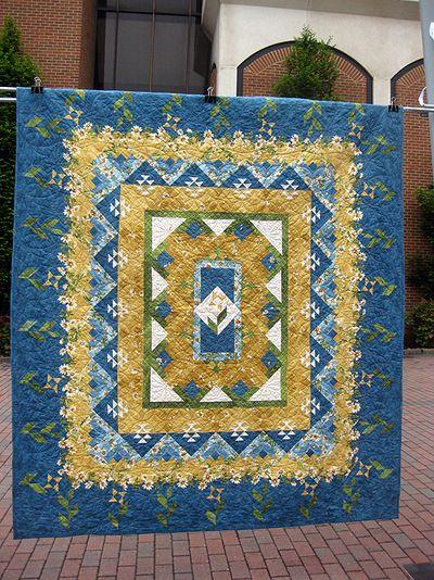 Blue quilt 1
